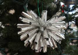 tinfoil ornament the saturday evening post