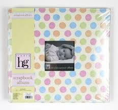 joann fabrics photo albums heidi grace 12in x 12in baby dots scrapbook album joann fabrics