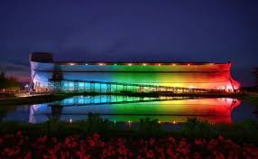 we need to take the rainbow back ark lights up to show true
