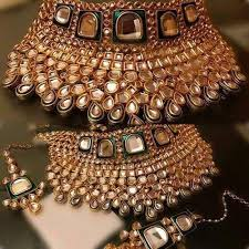 bridal necklace set images Party wear kundan bridal necklace set rs 2900 set f k jpg