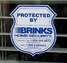 Hi Brinks Burglar Buster 2 Security Yard Sign 6 Brinks Home Alarm Security Surveillance Decal Window Door Sticker