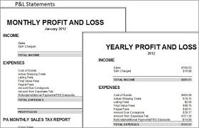 Profit And Loss Excel Template Free Easy Auctions Tracker An Ebay Spreadsheet For