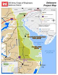 Map Delaware Baltimore District U003e About U003e Project Fact Sheets U003e Factsheet Maps