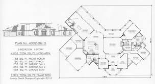 house plans with 4 car garage