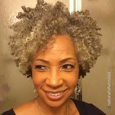 how to wear short natural gray hair for black women 107 best canas corto ondulado 2 short curly gray hair images on