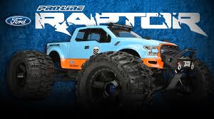 Ford F150 Truck Raptor - pro line 2017 ford f 150 raptor monster truck clear body youtube
