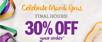 mardi gras for sale pfaltzgraff hours to save at the mardi gras sale take an