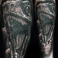 dinosaur tattoos sleeves phil young hope gallery tattoos half
