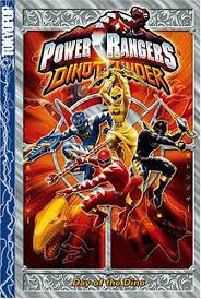 power rangers dino thunder vol 1 douglas sloan