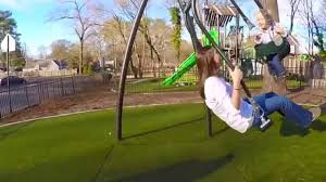 5128 expression swing face to face parent child swing