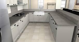 forme cuisine cuisine blanche et grise 6 cuisine la cuisine en u 2 décembre