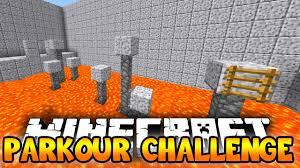 Challenge Minecraft Minecraft Parkour Challenge Minecraft Parkour Run W The Pack