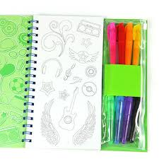 fashion kids coated paper painting color filling book buy
