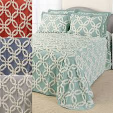 Gray And Turquoise Bedding Chenille Bedspreads And Matelasse Bedding Touch Of Class