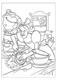cinderella 258 animation movies u2013 printable coloring pages