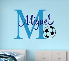 Baby Name Wall Decals For Nursery by Online Get Cheap Soccer Names Custom Aliexpress Com Alibaba Group