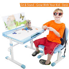 Kid At Desk Kid S Desk Set Adjustable Children S Table And Chair