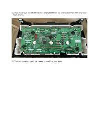 lexus es300 lcd replacement diy 4es climate control bulb replacement clublexus lexus