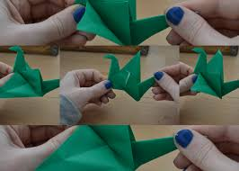 how to make a flapping origami crane notso kitty