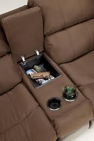 presley cocoa reclining sofa presley espresso 31500 by signature design by ashley ahfa