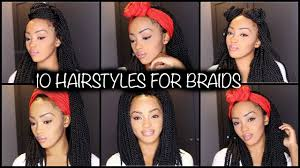 easy individual crochet braids hairstyles senegalese twist and
