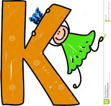 k letter k stock vector image of isolated 3527682