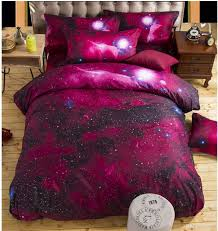 Space Bedding Twin 3d Galaxy Duvet Cover Set Single Double Twin Queen Bedding Sets