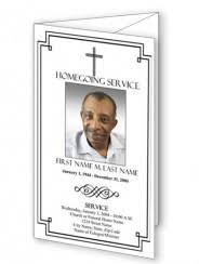 funeral obituary templates trifold funeral program templates obituary templates