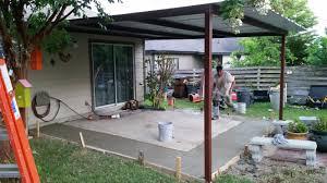 San Antonio Home Decor Stores Concrete Patio San Antonio Added Concrete Carport Patio Covers