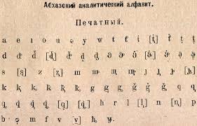 abkhaz alphabet wikipedia