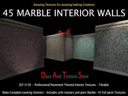 Interior Textures Second Life Marketplace Vivid Wall Textures Marble Wall