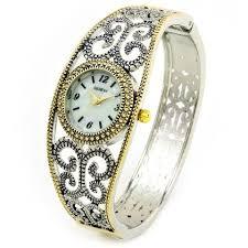 bangle bracelet watches images 2tone round face jewelry geneva bangle bracelet women 39 s dress jpg