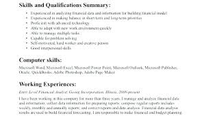 data analyst resume data analyst resume template financial sle finance entry level
