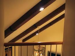 faux ceiling beams create rustic feel hgtv