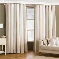 cream dining room curtains
