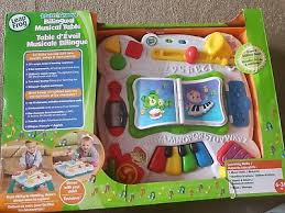 learn and groove table leapfrog learn groove musical activity table bilingual english