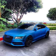 blue audi s7 car picker blue audi a7
