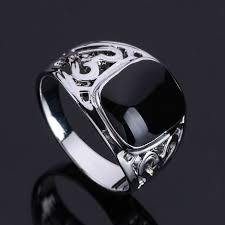 rings design for men size 7 12 2016 design men jewelry white gold color black