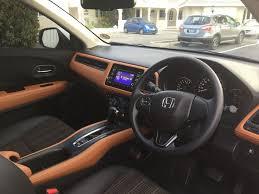 Honda Vezel Interior Pics 2015 16 Honda Vezel Carbon Feel Pvc Sticker For Rear Exterior Door