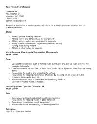 truck driver resume exle truck driver resume local sales driver lewesmr