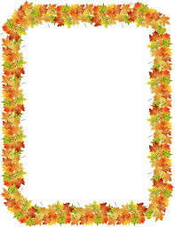 frame clipart autumn pencil and in color frame clipart autumn