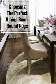 choosing the perfect dining room round rugs the purple pumpkin blog