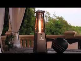 Lava Heat Italia Patio Heater by Lava Heat Mini Tabletop Z2 Patio Heater Video Gallery