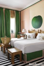 Pink And Green Bedroom - lambrequins and bedskirts oh my making it lovely