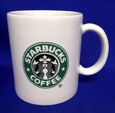 starbucks coffee mug catalina old logo made in usa black u0026 white