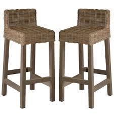 Walmart Kitchen Furniture Furniture Wicker Bar Stools Walmart Design With Footrest For