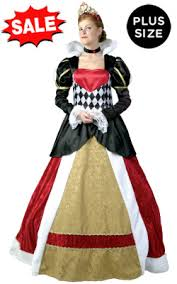 Figured Halloween Costumes Discount Size Queen Hearts Costumes Figure Women
