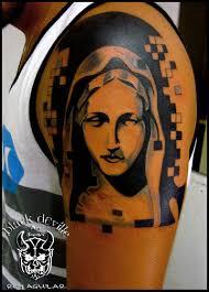 imagenes tatuajes de la virgen maria rey aguilar black side tattoo virgen maría