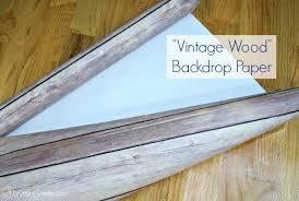 Bookcase Backdrop Faux Wood Backed Bookcase Easy Diy Decor