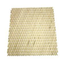 lattice makers beige expandable hardwood trellis 540mm x 860mm x